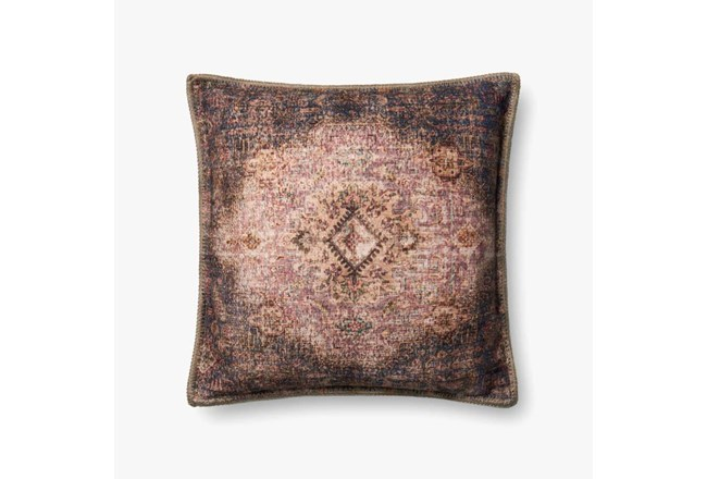 Accent Pillow-Beige/Multi Medallion Tapestry 20X20 - 360