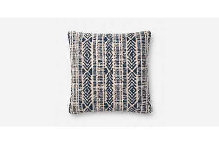 Accent Pillow-Blue/Natural 20X20