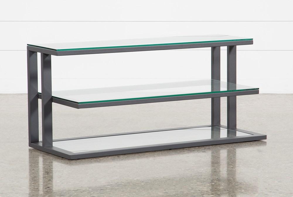 Oscar Glass TV Stand