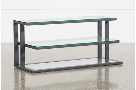 Oscar Glass TV Stand