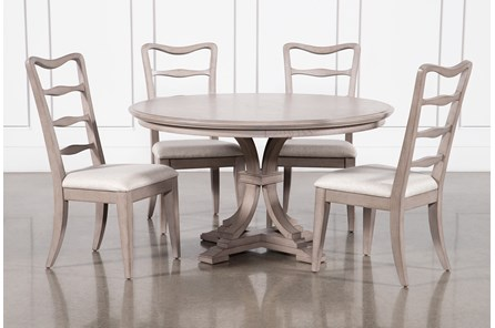 Carter 5 Piece Round Dining Set