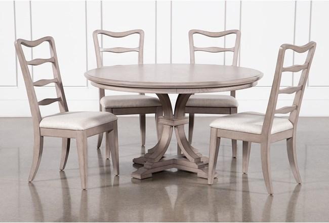 Carter 5 Piece Round Dining Set - 360