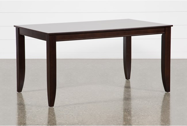 Rancho Brown Rectangle Dining Table - 360