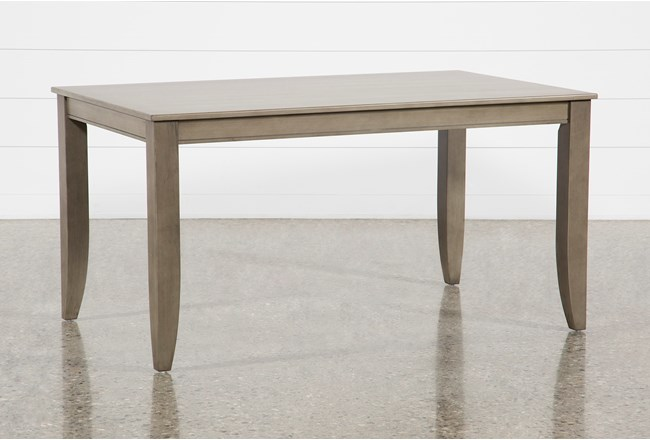 Rancho Grey Rectangle Dining Table - 360