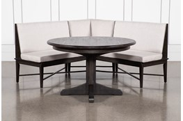 Valencia 2 Piece Banquette Dining Set