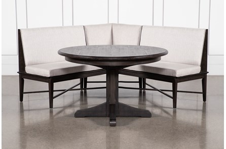 Valencia 2 Piece Banquette Dining Set - Main