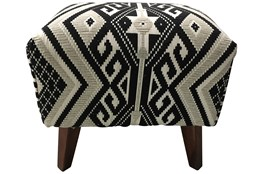 Tribal Accent Stool