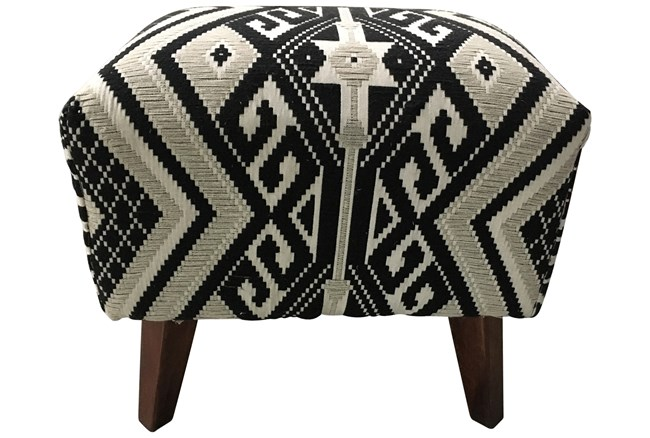 Tribal Accent Stool  - 360