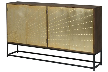 Solar Refinement Sideboard On Stand