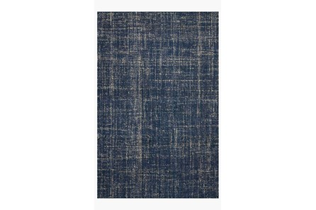 27X45 Rug-Magnolia Home Crew Navy By Joanna Gaines