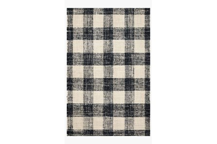 42X66 Rug-Magnolia Home Crew Black/Natural By Joanna Gaines