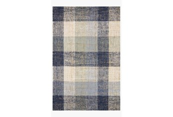 """3'5""""x5'5"""" Rug-Magnolia Home Crew Blue/Multi By Joanna Gaines"""