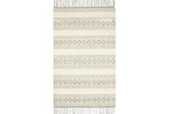 """5'x7'5"""" Rug-Magnolia Home Holloway Grey/Ivory By Joanna Gaines"""