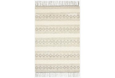 """9'2""""x13' Rug-Magnolia Home Holloway Grey/Ivory By Joanna Gaines"""