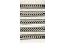 111X156 Rug-Magnolia Home Holloway Ivory/Black By Joanna Gaines