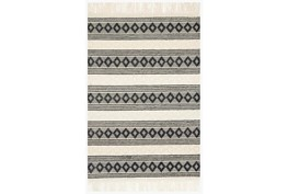 """9'2""""x13' Rug-Magnolia Home Holloway Ivory/Black By Joanna Gaines"""