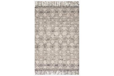 """3'5""""x5'5"""" Rug-Magnolia Home Holloway Grey By Joanna Gaines"""