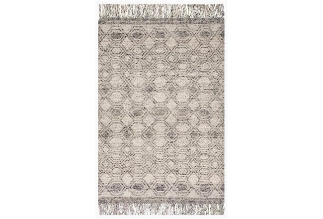 111X156 Rug-Magnolia Home Holloway Grey By Joanna Gaines - 360