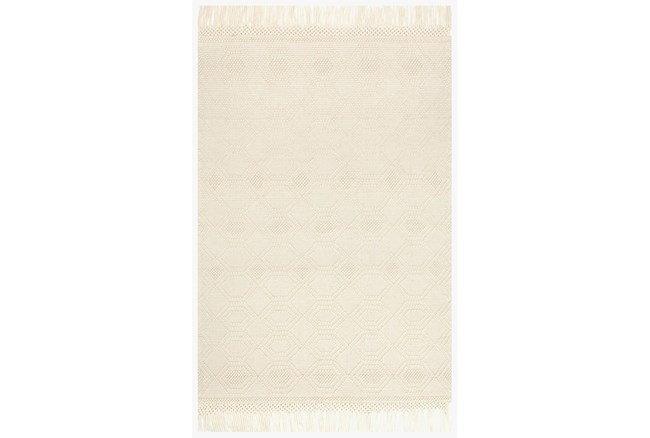 """3'5""""x5'5"""" Rug-Magnolia Home Holloway Ivory By Joanna Gaines - 360"""