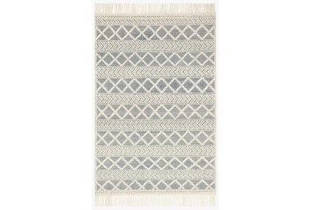 """5'x7'5"""" Rug-Magnolia Home Holloway Navy/Ivory By Joanna Gaines"""