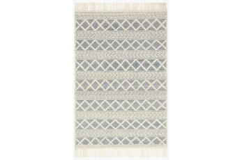 93X117 Rug-Magnolia Home Holloway Navy/Ivory By Joanna Gaines