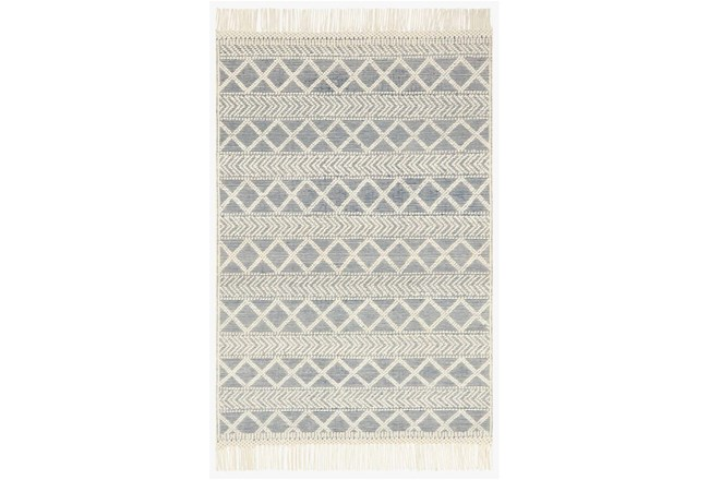 93X117 Rug-Magnolia Home Holloway Navy/Ivory By Joanna Gaines - 360