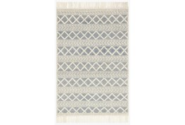 """9'2""""x13' Rug-Magnolia Home Holloway Navy/Ivory By Joanna Gaines"""