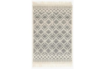 111X156 Rug-Magnolia Home Holloway Black/Ivory By Joanna Gaines