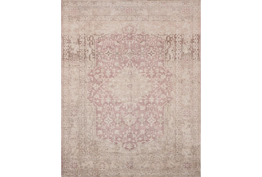 27X45 Rug-Magnolia Home Lucca Terracotta/Ivory By Joanna Gaines