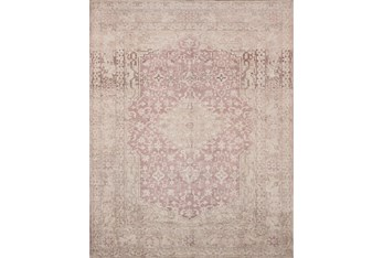 """2'3""""x3'7"""" Rug-Magnolia Home Lucca Terracotta/Ivory By Joanna Gaines"""
