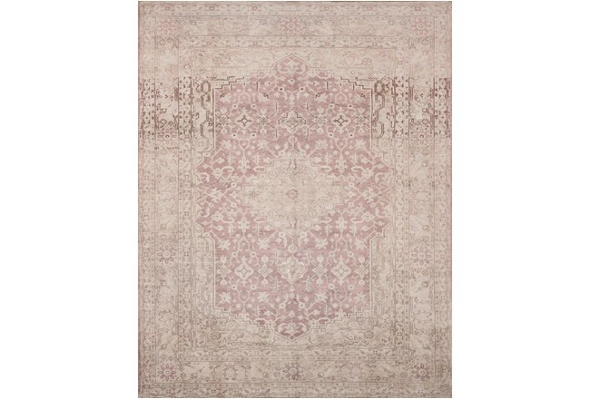 27X45 Rug-Magnolia Home Lucca Terracotta/Ivory By Joanna Gaines - 360