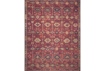 """2'3""""x3'7"""" Rug-Magnolia Home Lucca Brick/Multi By Joanna Gaines"""