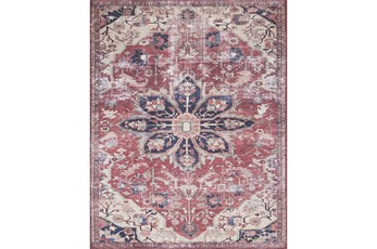 27X45 Rug-Magnolia Home Lucca Rust/Ivory By Joanna Gaines