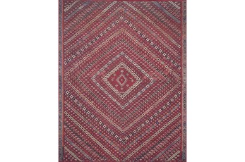 27X45 Rug-Magnolia Home Lucca Red/Multi By Joanna Gaines