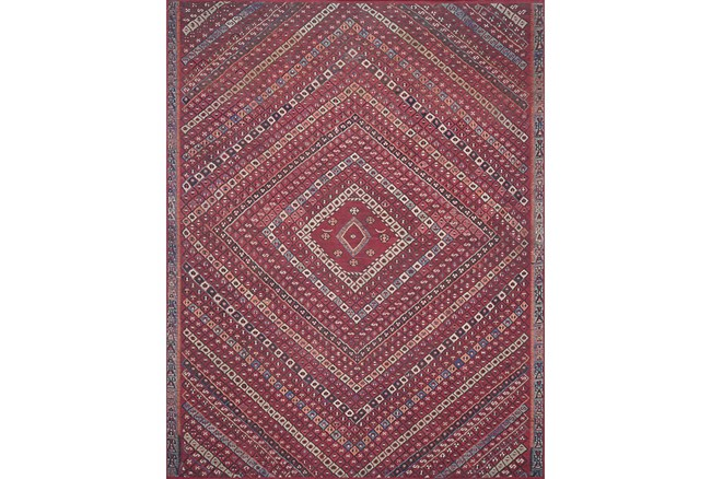 """2'3""""x3'7"""" Rug-Magnolia Home Lucca Red/Multi By Joanna Gaines - 360"""