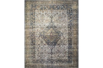 27X45 Rug-Magnolia Home Lucca Ivory/Multi By Joanna Gaines