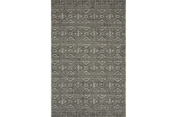 110X145 Rug-Magnolia Home Warwick Silver/Black By Joanna Gaines