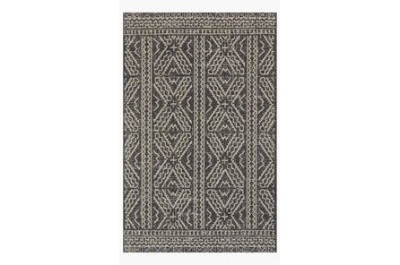 94X129 Rug-Magnolia Home Warwick Black/Silver By Joanna Gaines
