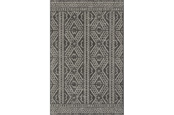 110X145 Rug-Magnolia Home Warwick Black/Silver By Joanna Gaines