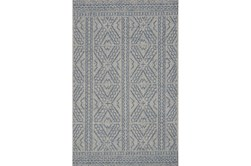 47X70 Rug-Magnolia Home Warwick Silver/Azure By Joanna Gaines