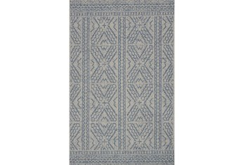 """4'9""""x7'6"""" Rug-Magnolia Home Warwick Silver/Azure By Joanna Gaines"""
