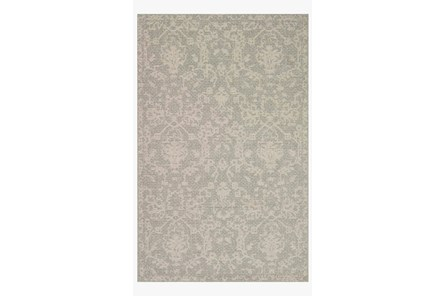 110X145 Rug-Magnolia Home Warwick Grey/Silver By Joanna Gaines