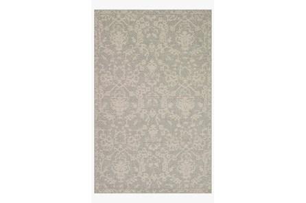 110X145 Rug-Magnolia Home Warwick Grey/Silver By Joanna Gaines