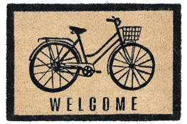 36X24 Doormat-Bicycle Onyx
