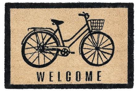 36X24 Doormat-Bicycle Onyx
