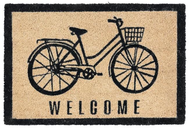 36X24 Doormat-Bicycle Onyx - 360