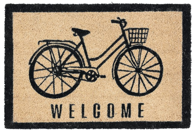 36X24 Doormat-Bicycle Onyx - 360