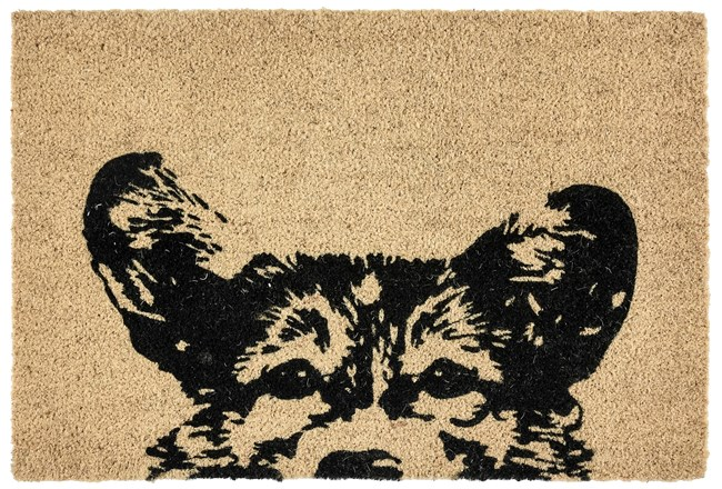 36X24 Doormat-Earnest Dog Black - 360