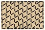 36X24 Doormat-Brushstroke Diamonds Black - Signature