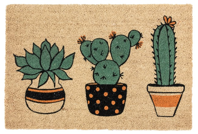 36X24 Doormat-Planter Friends Multi - 360